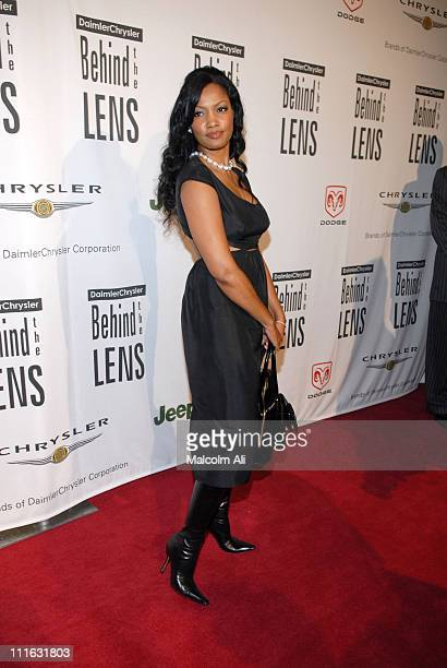 Garcelle Beauvais during DAIMLERCHRYSLER Celebrates Fifth Anniversary of 'BEHIND THE LENS' Award at Beverly Hilton in Beverly Hills CA United States