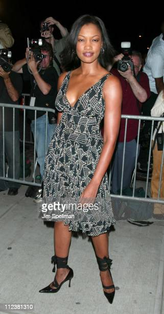 Garcelle Beauvais during Mercedes Benz Fashion Week 2003 Opening of the First Stella McCartney Store Worldwide at Stella McCartney Store in New York...