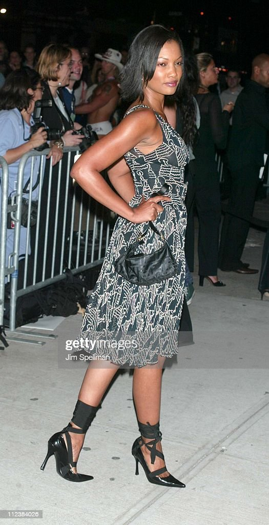 Garcelle Beauvais during Mercedes Benz Fashion Week 2003 - Opening of the First Stella McCartney Store Worldwide at Stella McCartney Store in New York, New York, United States.
