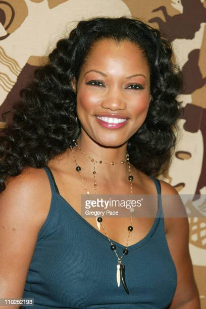 Garcelle Beauvais during Olympus Fashion Week Spring 2006 Baby Phat Backstage Inside Arrivals and Front Row at Radio City Music Hall in New York City...