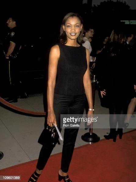 Garcelle Beauvais during 'Out of Sight' Universal City Premiere Red Carpet at Academy Theatre in Beverly Hills California United States