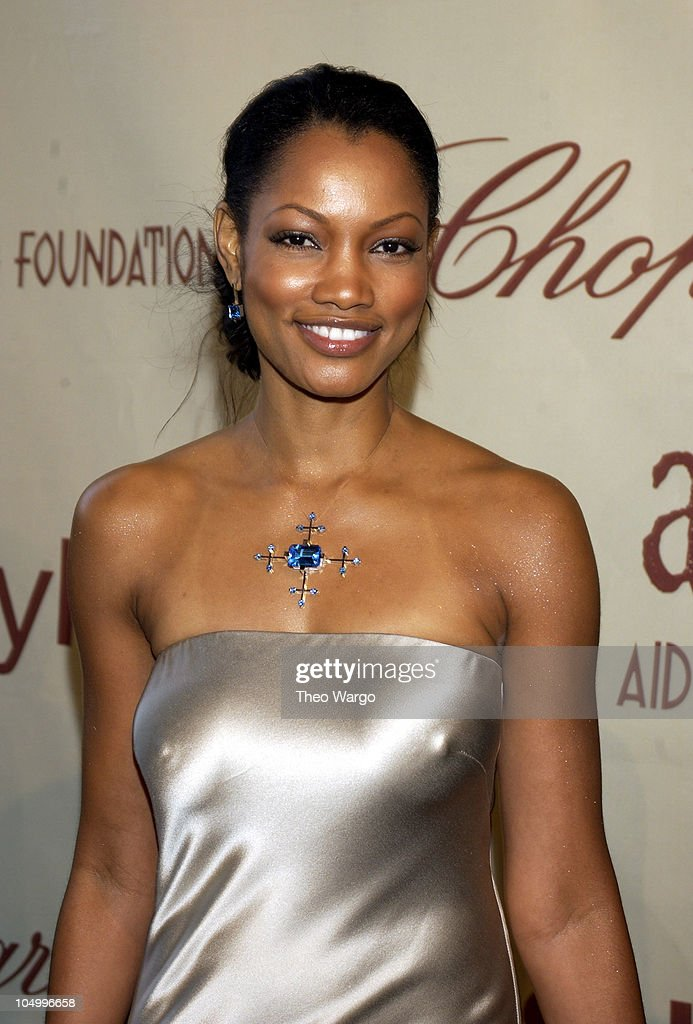 Garcelle Beauvais during The 10th Annual Elton John AIDS Foundation InStyle Party Arrivals at Moomba Restaurant in Hollywood California United States