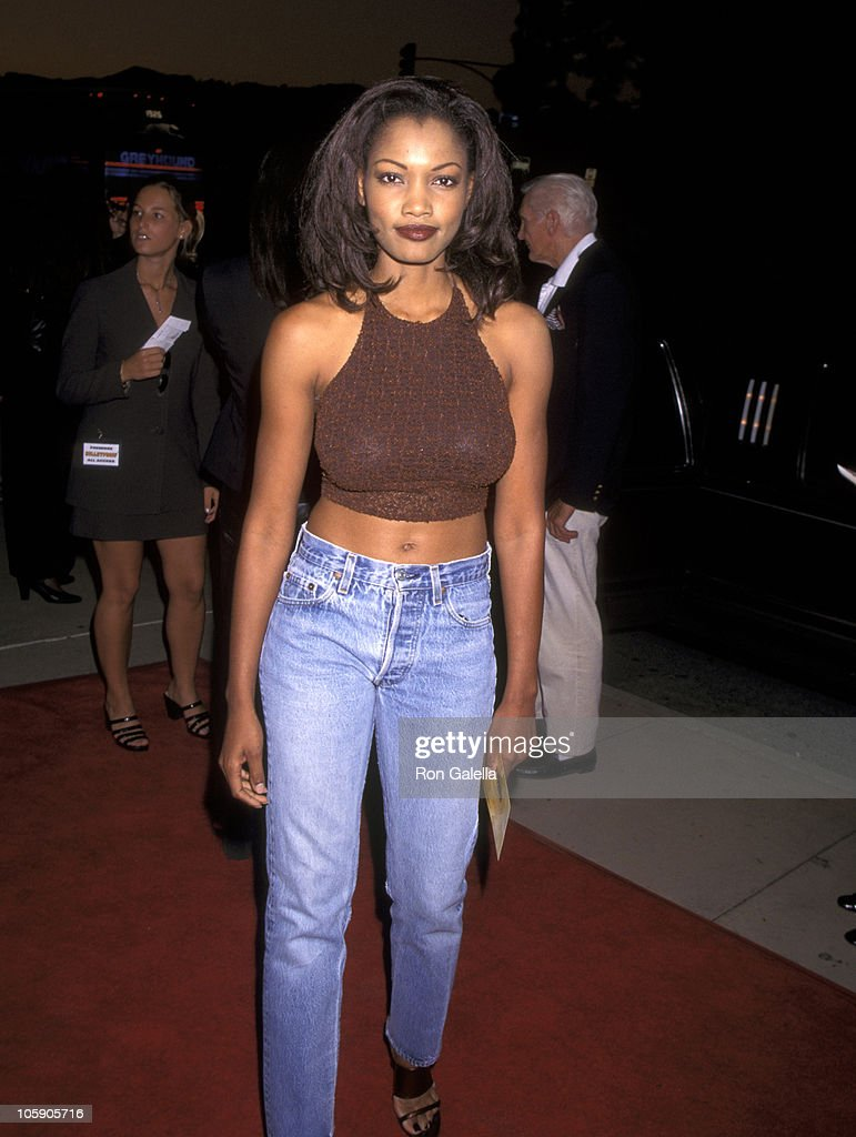 <a gi-track='captionPersonalityLinkClicked' href=/galleries/search?phrase=Garcelle+Beauvais&family=editorial&specificpeople=203112 ng-click='$event.stopPropagation()'>Garcelle Beauvais</a> during Universal's Premiere of 'Bulletproof' - August 28, 1996 in Los Angeles, California, United States.