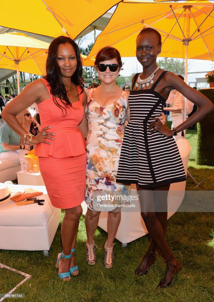<a gi-track='captionPersonalityLinkClicked' href=/galleries/search?phrase=Garcelle+Beauvais&family=editorial&specificpeople=203112 ng-click='$event.stopPropagation()'>Garcelle Beauvais</a>, <a gi-track='captionPersonalityLinkClicked' href=/galleries/search?phrase=Tiffani+Thiessen&family=editorial&specificpeople=221649 ng-click='$event.stopPropagation()'>Tiffani Thiessen</a> and <a gi-track='captionPersonalityLinkClicked' href=/galleries/search?phrase=Alek+Wek&family=editorial&specificpeople=239513 ng-click='$event.stopPropagation()'>Alek Wek</a> attens the VIP Marquee during the sixth annual Veuve Clicquot Polo Classic on June 1, 2013 in Jersey City.