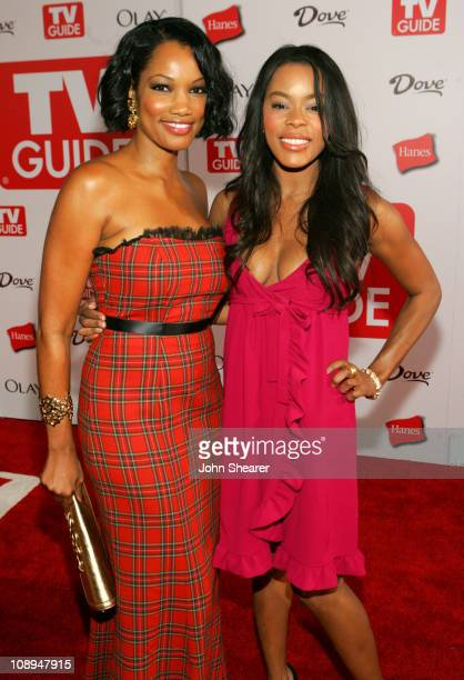 Garcelle BeauvaisNilon and Golden Brooks during TV Guide Emmy After Party Red Carpet at Social in Los Angeles California United States