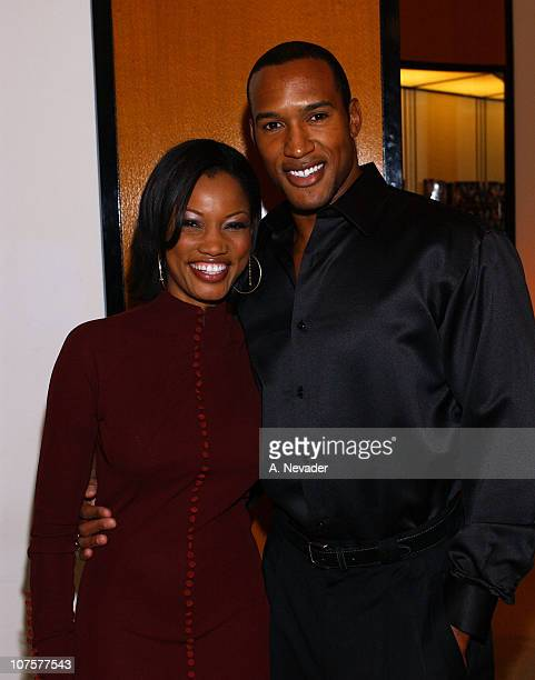 Garcelle BeauvaisNilon and Henry Simmons during The 100th Anniversary of the PerrierJouet 'Flower Bottle' and the Launch of Artist Hunt Slonem's Book...