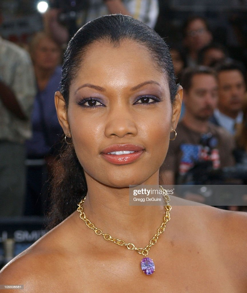 <a gi-track='captionPersonalityLinkClicked' href=/galleries/search?phrase=Garcelle+Beauvais&family=editorial&specificpeople=203112 ng-click='$event.stopPropagation()'>Garcelle Beauvais</a>-Nilon during 'I, ROBOT' World Premiere - Arrivals at Mann Village Theatre in Westwood, California, United States.