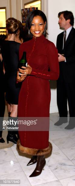 Garcelle BeauvaisNilon during The 100th Anniversary of the PerrierJouet 'Flower Bottle' and the Launch of Artist Hunt Slonem's Book 'An Art Rich...