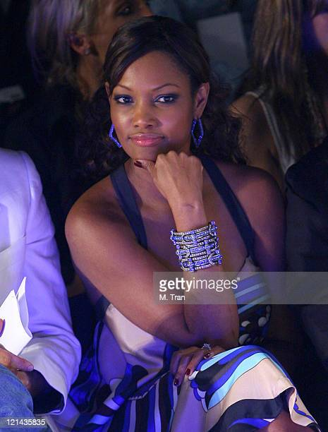 Garcelle BeauvaisNilon front row at Kevan Hall Fall 2007