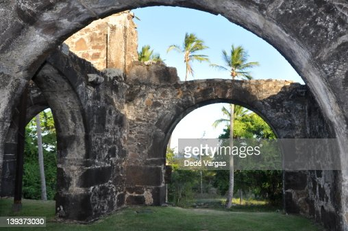 Garcia D'?vila Castle : Stock Photo