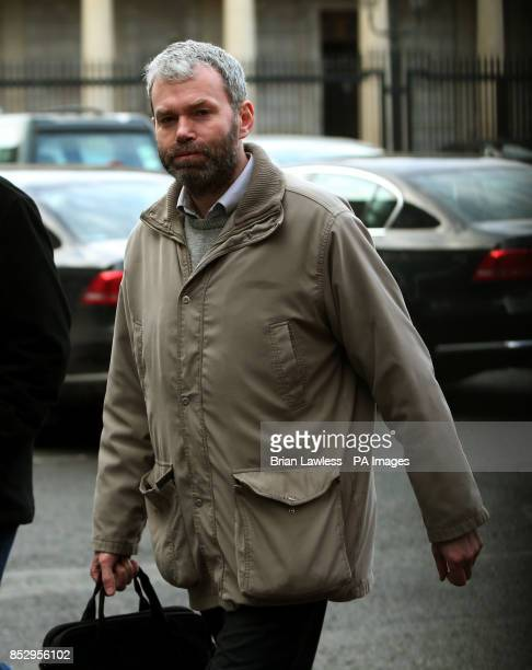 Garda Whistleblower John Wilson arrives for the Dail Public Accounts Committee hearing over the penalty points controversy