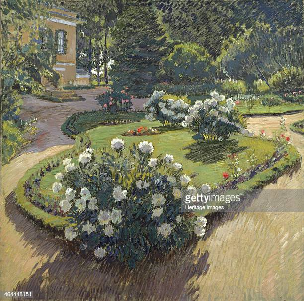 A garden 1910 Found in the collection of the State Art Museum Irkutsk