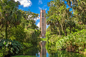 Lake Wales, Florida, USA at Bok Tower Gardens.