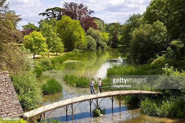 Garden at Blenheim Palace, Woodstock, Oxfordshire, England, United Kingdom.