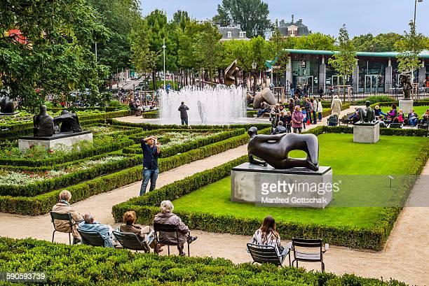 Garden at the Rijksmuseum Amsterdam