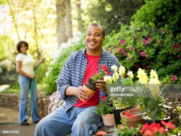 Garden Couple