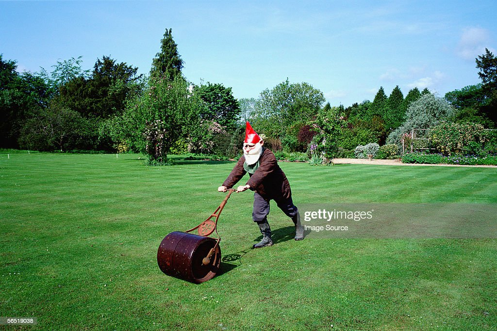 Lawn Roller Stock Photos and Pictures Getty Images