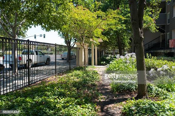 Garden apartment complex stock photos and pictures getty - Marshall field garden apartments ...