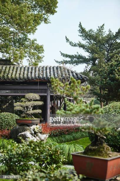 Garden in moon lake park, Ningbo, Zhejiang, China