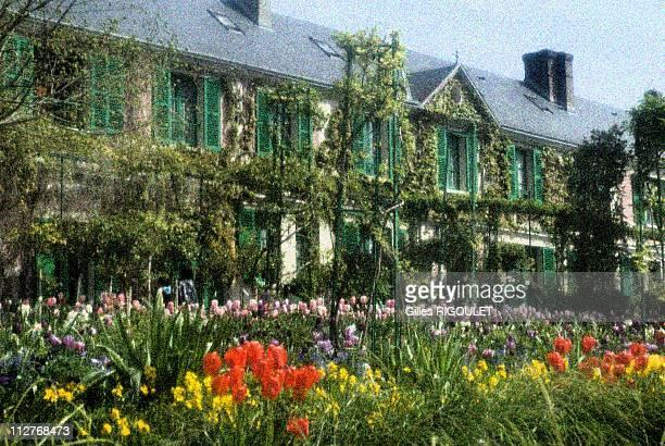 Garden of Claude Monet House Giverny Normandy