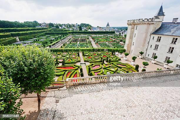 Garden Of Love Of The Chateau De Villandry Villandry IndreEtLoire France