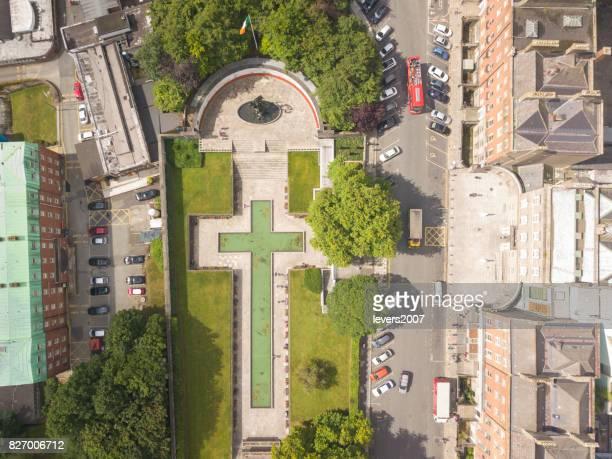 Garden of Remembrance Dublin city centre
