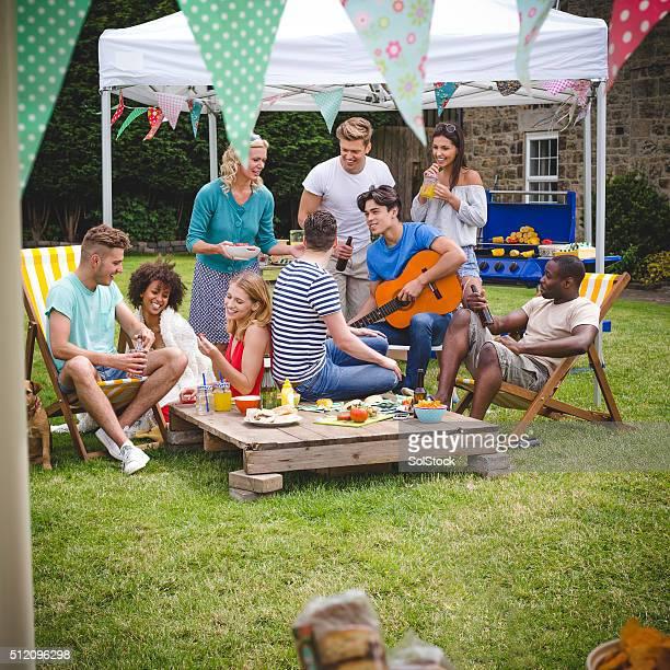 BBQ Garden Party