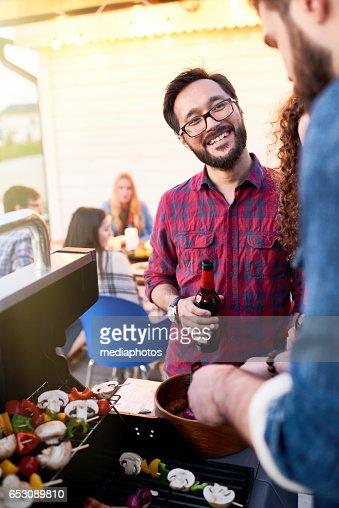 Garden party : Stock Photo