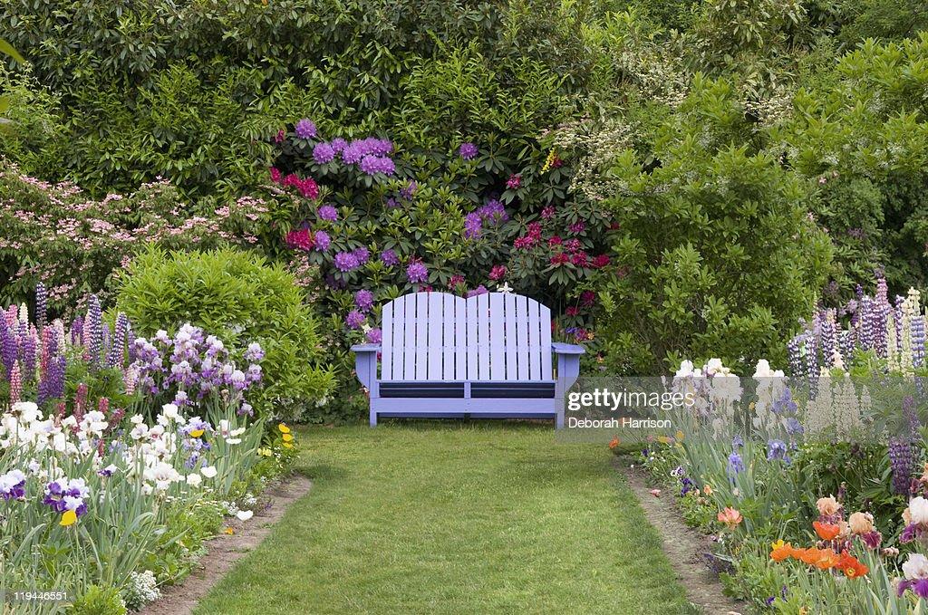 Garden Sanctuary : Stock Photo
