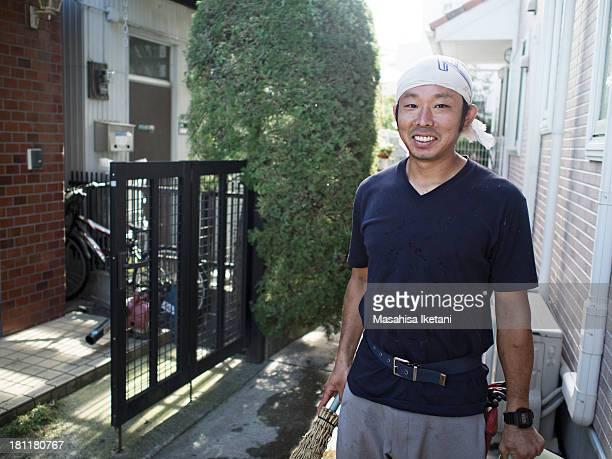 Gardener Portrait of Japan