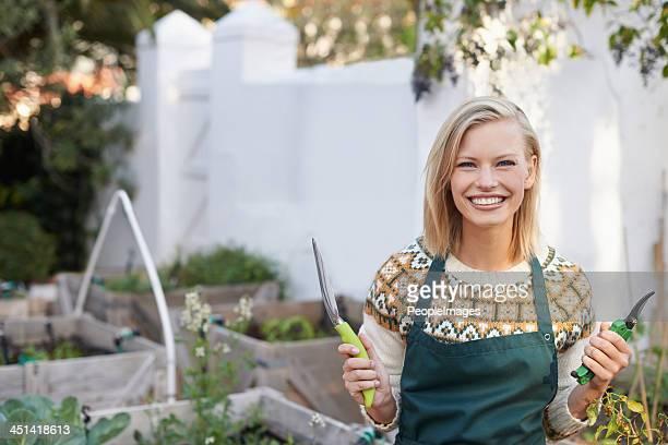 Jardinage est ma passion!