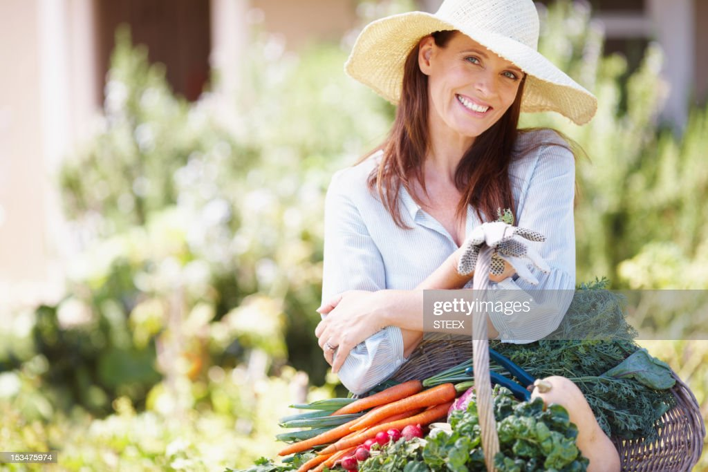 Gardening is the love of my life : Stock Photo