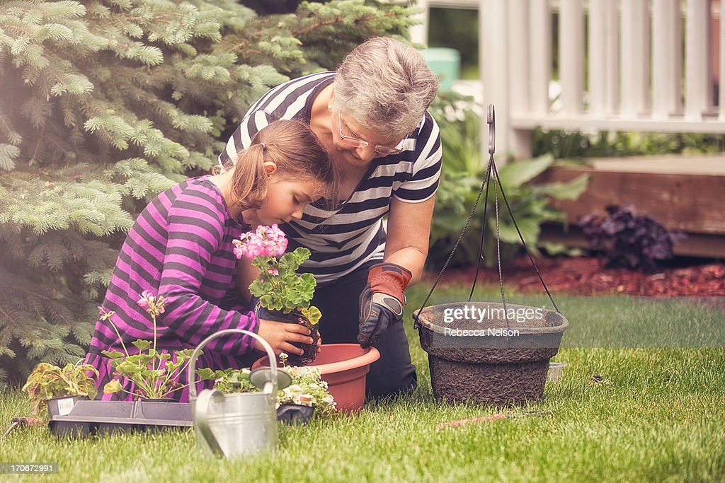 Gardening with Grandma
