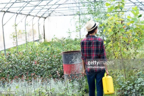 Gardening with love.