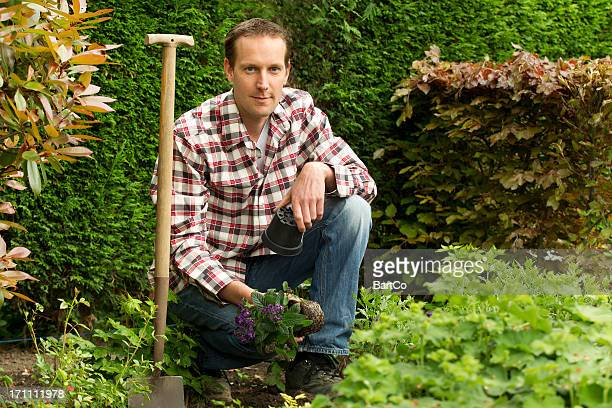 Gardening, working in the garden