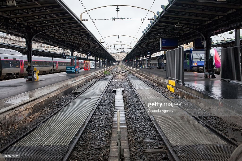 Gare de l'Est Train Station is seen in Paris, France on May 31, 2016.