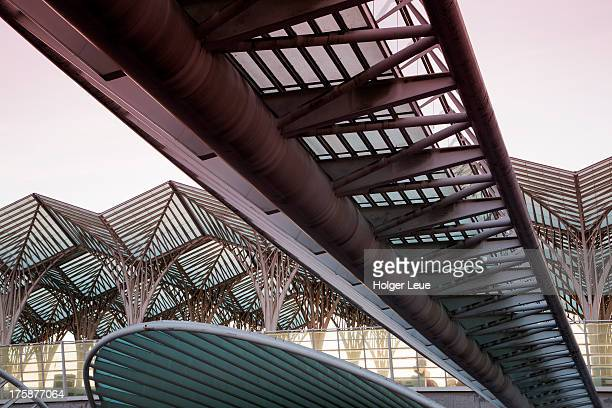 Gare do Oriente railway station at Park of Nations