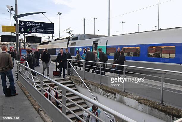 La Gare du Nord, à Paris