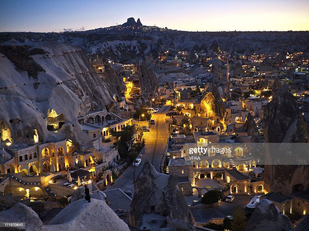 GAreme, Cappadocia in the Evening