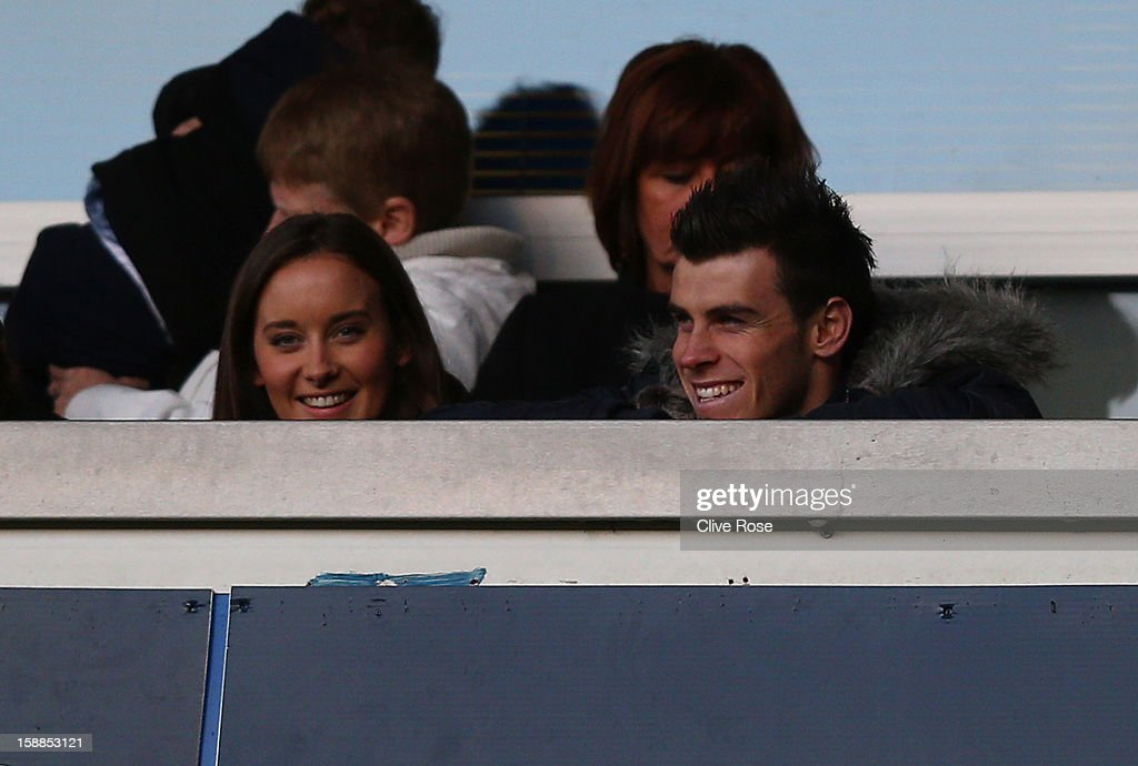 <a gi-track='captionPersonalityLinkClicked' href=/galleries/search?phrase=Gareth+Bale&family=editorial&specificpeople=609290 ng-click='$event.stopPropagation()'>Gareth Bale</a> of Tottenham Hotspur looks on from the stands during the Barclays Premier League match between Tottenham Hotspur and Reading at White Hart Lane on January 1, 2013 in London, England.