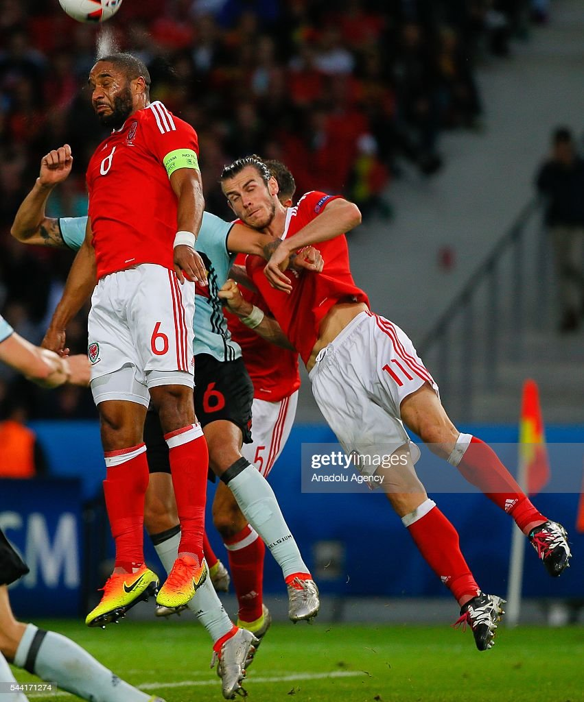 Gareth Bale of Wales in action during the Euro 2016 quarter-final football match between Wales and Belgium at the Stadium Pierre Mauroy in Lille, France on July 1, 2016.