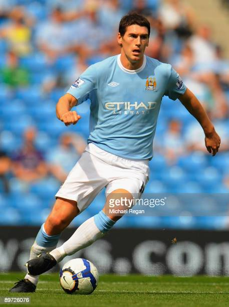 Gareth Barry of Manchester City during the pre season friendly match between Manchester City and Celtic at the City of Manchester Stadium on August 8...