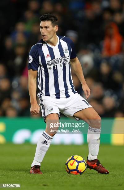 Gareth Barry of West Bromwich Albion during the Premier League match between West Bromwich Albion and Chelsea at The Hawthorns on November 18 2017 in...
