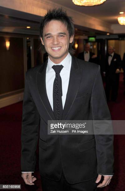 Gareth Gates arrives for the Laurence Olivier Awards at the Grosvenor Hotel in central London