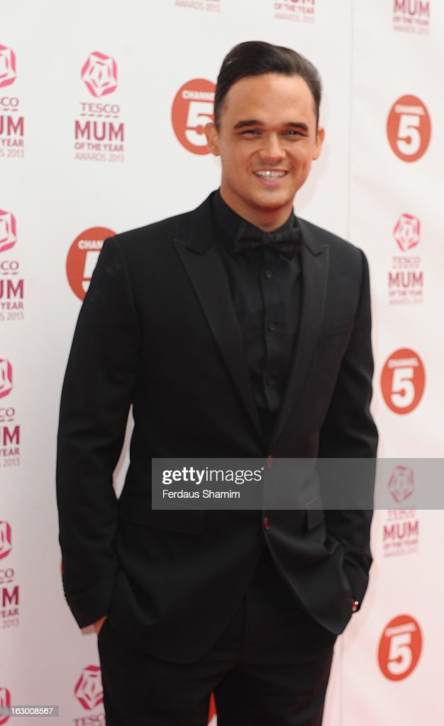 <a gi-track='captionPersonalityLinkClicked' href=/galleries/search?phrase=Gareth+Gates&family=editorial&specificpeople=206173 ng-click='$event.stopPropagation()'>Gareth Gates</a> attends the Tesco Mum of the Year awards at The Savoy Hotel on March 3, 2013 in London, England.
