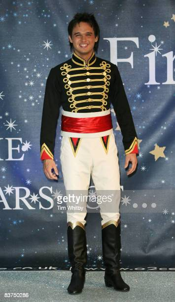 Gareth Gates poses for photos ahead of playing Prince Charming at the New Wimbledon Theatre over the Christmas Pantomime Season on November 19 2008...