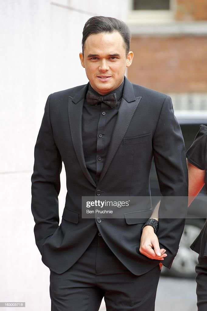 Gareth Gates sighted arriving at The Savoy Hotel on March 3, 2013 in London, England.