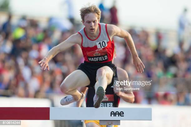 Gareth Hadfield runs to a silver medal and just shy of the World Championships qualifying time in the 3000m steeple chase at the Canadian Track and...