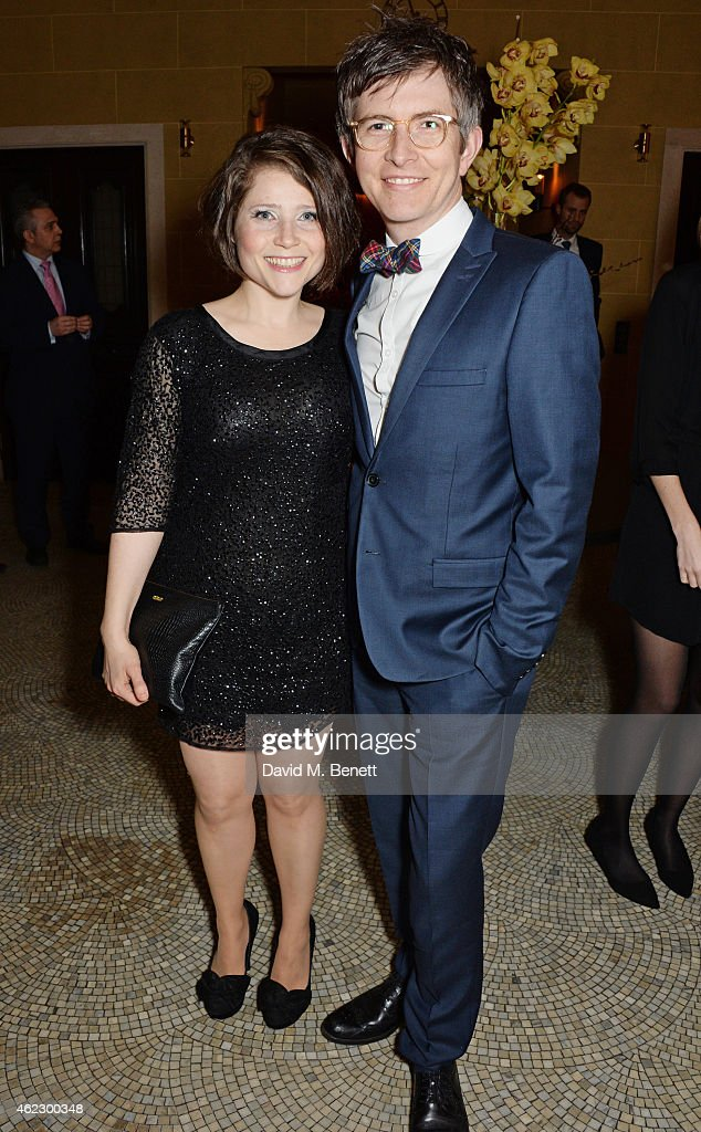 <a gi-track='captionPersonalityLinkClicked' href=/galleries/search?phrase=Gareth+Malone&family=editorial&specificpeople=5333670 ng-click='$event.stopPropagation()'>Gareth Malone</a> (R) and wife Becky attend Debrett's 500 party, hosted at The Club at Cafe Royal on January 26, 2015 in London, England. The Debrett's 500 recognise the most influential people in Britain, across 24 different categories, including Politics, Fashion and Music.