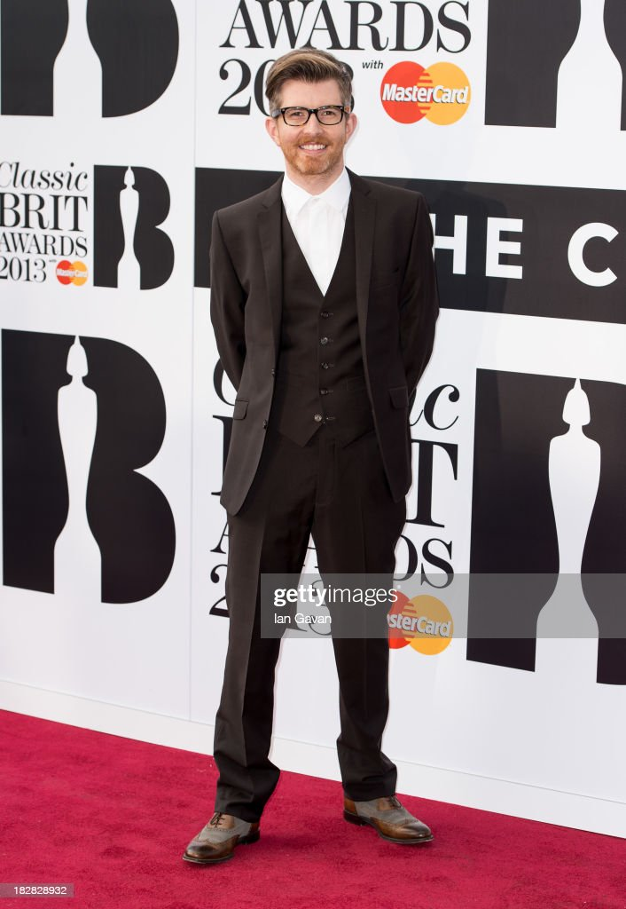 Gareth Malone attends the Classic BRIT Awards 2013 at the Royal Albert Hall on October 2, 2013 in London, England.